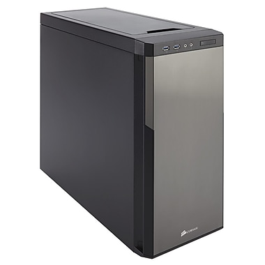 Corsair® Carbide Series® 330R Silent Edition Mid-Tower Computer Case, Titanium