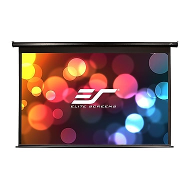 Elite Screens – Écran de projection TVHD Spectrum ELECTRIC100H, boîtier noir