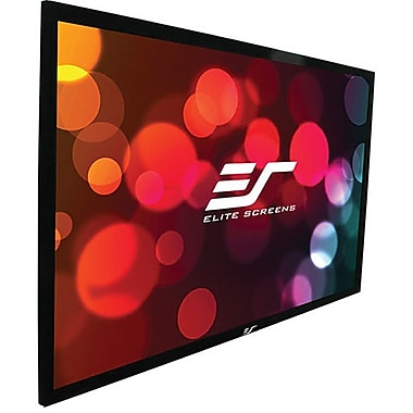 Elite Screens ER92WH2 Sable Frame Projector Screen