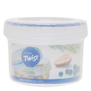 Lock & Lock 4.8 Oz. Twist Top Round Food Container