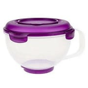 Lock & Lock Polypropylene Measuring and Mixing Bowl; Purple