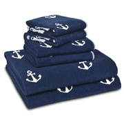 LaMont Anchors 6 Piece Towel Set