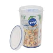 Lock & Lock Twist Top Round 64 Oz. Food Storage Container