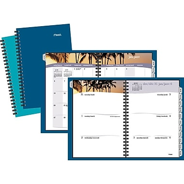 Mead® 2018 Fashion Tropical Planner Weekly/Monthly, 5-7/8