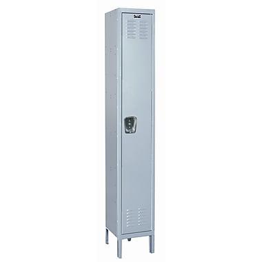 Hallowell MedSafe 1 Tier 1 Wide School Locker; 78'' H x 12'' W x 18'' D