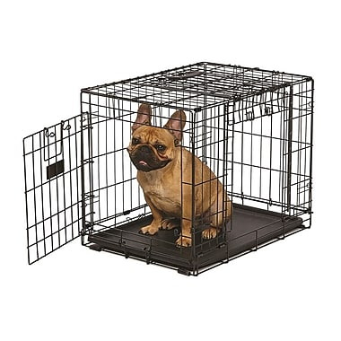 Midwest Homes For Pets Ovation Trainer Double Door Pet Crate; 42''