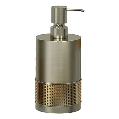 NU Steel Selma Soap & Lotion Dispenser