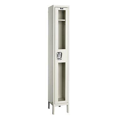 Hallowell Safety-View 1 Tier 1 Wide Safety Locker; 12''W x 15''D x 78''H