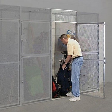 Hallowell Bulk Storage 1 Tier 1 Wide Storage Locker; 48'' x 60'' x 90''