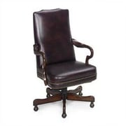 Seven Seas Seating Evanston Leather Executive Chair; Empire Egyptian Brown