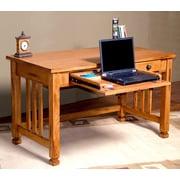 sunny designs sedona computer desk w keyboard tray - Sunny Designs Desk