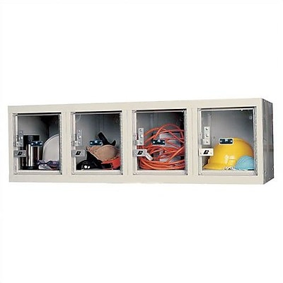 Hallowell Safety-View 1 Tier 4 Wide Safety Locker