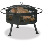 Blue Rhino Uniflame Steel Wood Burning Fire pit