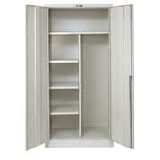 Hallowell 800 Series 1 Tier 1 Wide Storage Locker; Parchment