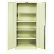 Hallowell 400 Series 2 Door Storage Cabinet; Parchment