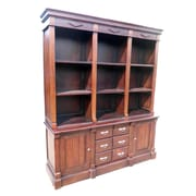 D-Art Collection Open Front 79'' Oversized Set Bookcase