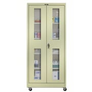 Hallowell 400 Series 2 Door Storage Cabinet; Parchment