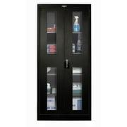 Hallowell 800 Series 2 Door Storage Cabinet; Midnight Ebony