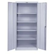Hallowell 800 Series 2 Door Storage Cabinet; Platinum Antimicrobial