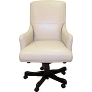 Parker House Leather Executive Chair; Biscuit
