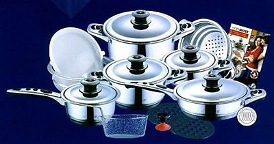 Concord 19-Piece Hoffmayer Premium Surgical Stainless Steel
