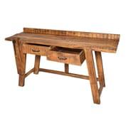 MOTI Furniture Golden Writing Desk