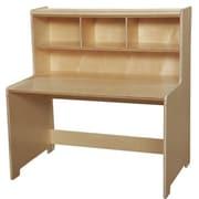Wood Designs Writing Desk w/ Hutch