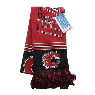 Calgary Flames Multi Logo Scarf