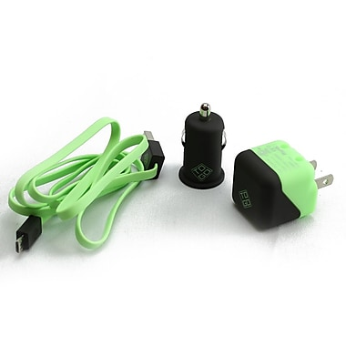 BlueDiamond ToGo Charging Kits for Android/Blackberry/Microsoft Phones, 3/Pack