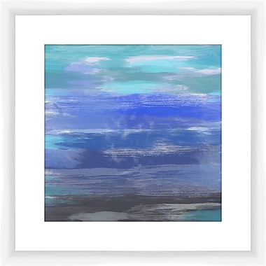 PTM Images Haze III Framed Painting Print