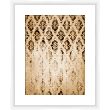 PTM Images Fade Pattern Framed Graphic Art