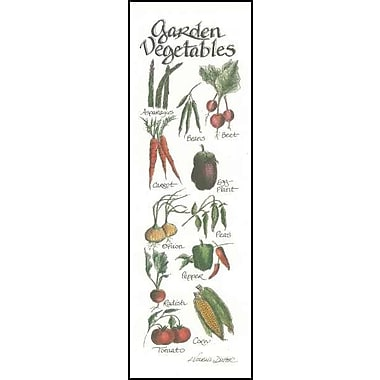 LPGGreetings Life Lines Garden Vegetables by Lori Voskuil-Dutter Graphic Art Plaque