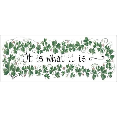 LPGGreetings Life Lines It Is What It Is by Lori Voskuil-Dutter Graphic Art Plaque