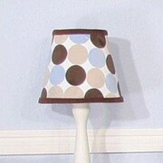 Brandee Danielle Minky Dot 8'' Empire Lamp Shade