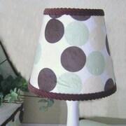 Brandee Danielle Minky Dot 8'' Cotton Empire Lamp Shade