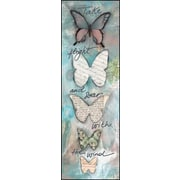 LPGGreetings Life Lines Take Flight and Soar by Monica Sabolla Gruppo Painting Print Plaque