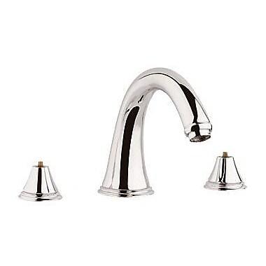 Grohe Geneva Roman Thermostatic Tub Faucet; Polished Nickel