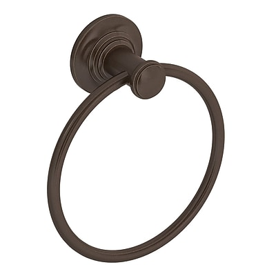 Symmons Winslet Wall Mounted Hand Towel Ring; Oil Rubbed Bronze
