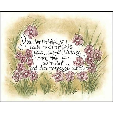 LPGGreetings Life Lines You Think You Can't Grandchildren Textual Art Plaque