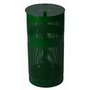 Zero Waste USA 10 Gallon Trash Can; Forest Green