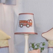 Brandee Danielle Fire Engine 8'' Cotton Empire Lamp Shade