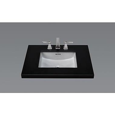 Ronbow Ceramic Rectangular Undermount Bathroom Sink w/ Overflow