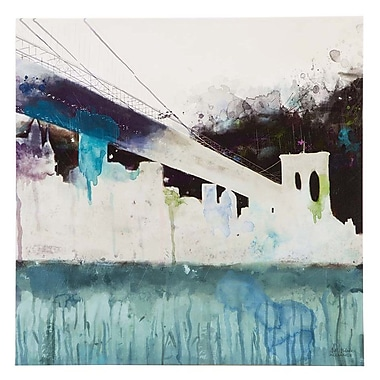 Ink + Ivy ''Abstracted City'' by Alliance Painting Print on Wrapped Canvas