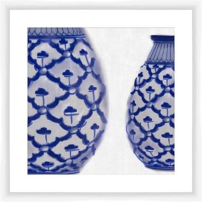 PTM Images Vase II Framed Graphic Art
