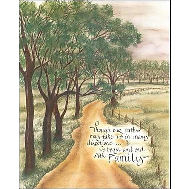 LPGGreetings Life Lines Though Our Paths by Lori Voskuil-Dutter Graphic Art Plaque
