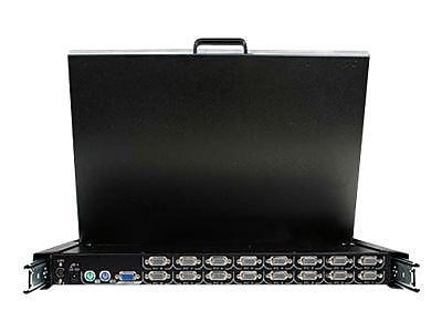"""""StarTech RACKCONS 19"""""""" Rack Mount LCD Console With 16 Port Multi-PlatForm KVM"""""" IM1M60342"