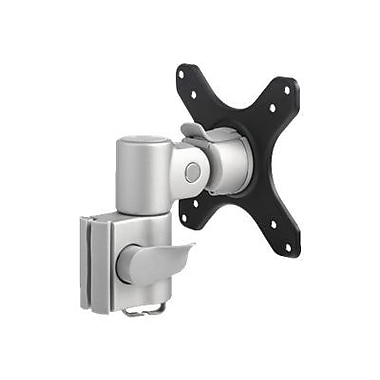 Atdec® Systema SA13S Mounting Arm For Flat Panel Display/Notebook, Matte Silver