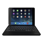 Zagg ZAGG ZAGGfolio Keyboard And Folio Case - Wireless - ID6ZFK-BB0 - Black - For Apple iPad Air 2