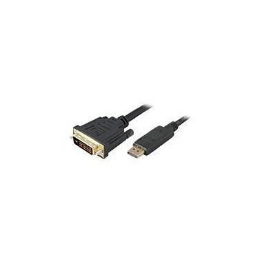 AddOn 10' Displayport to DVI Adapter Converter Cable, Black