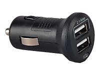 RCA® Mini Auto Power 2 Outlet to USB Charger For Smartphone